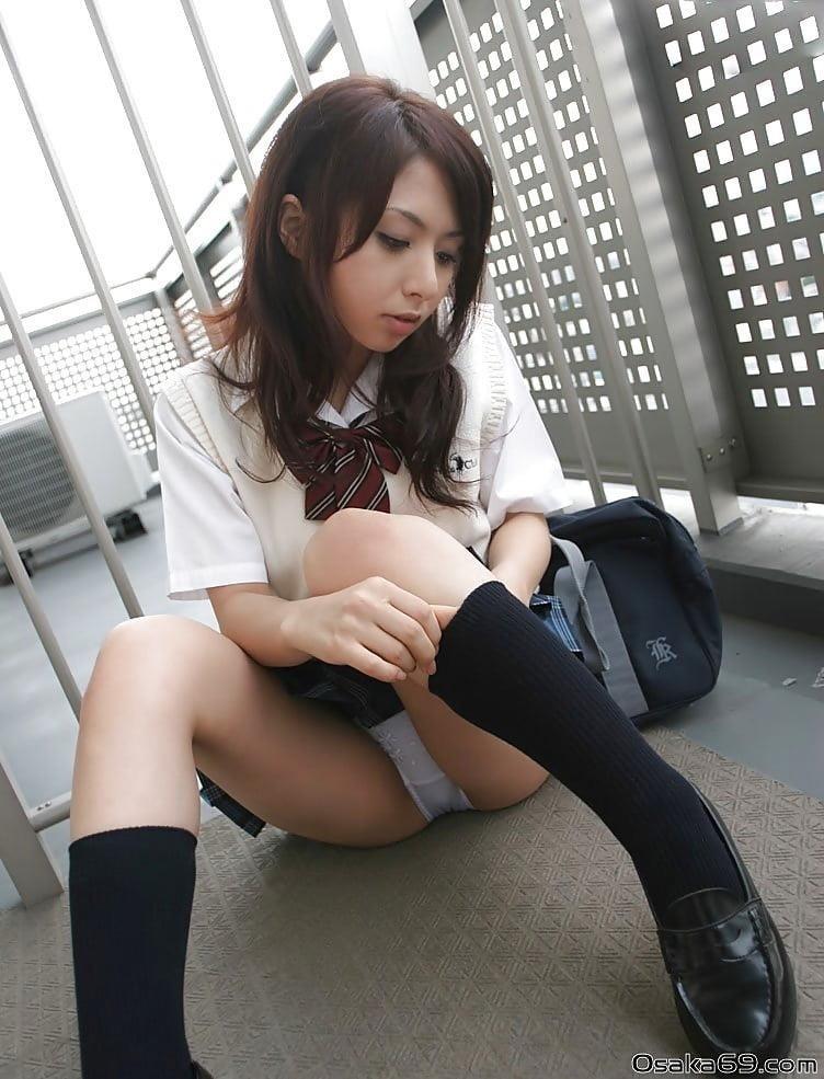 Japanese panty masturbation-9716
