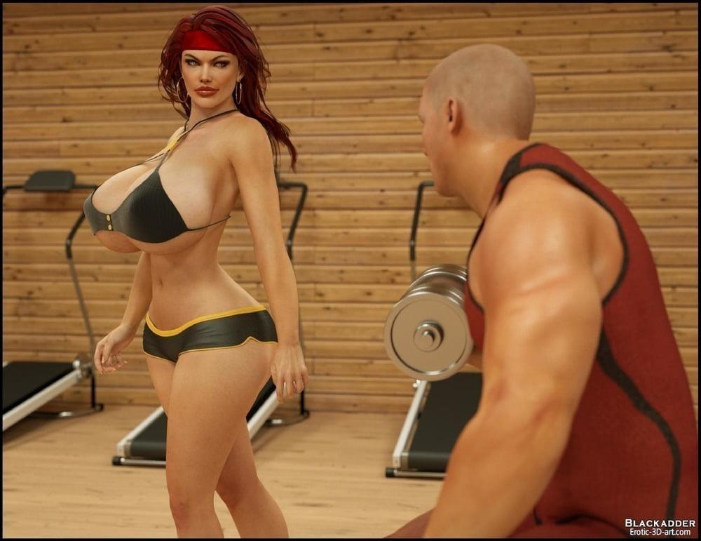 Pornhub in the gym-7889