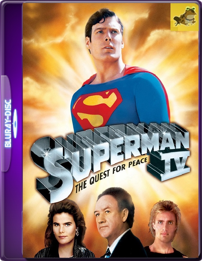 Superman 4: En Busca De La Paz (1987) Brrip 1080p (60 FPS) Latino / Inglés