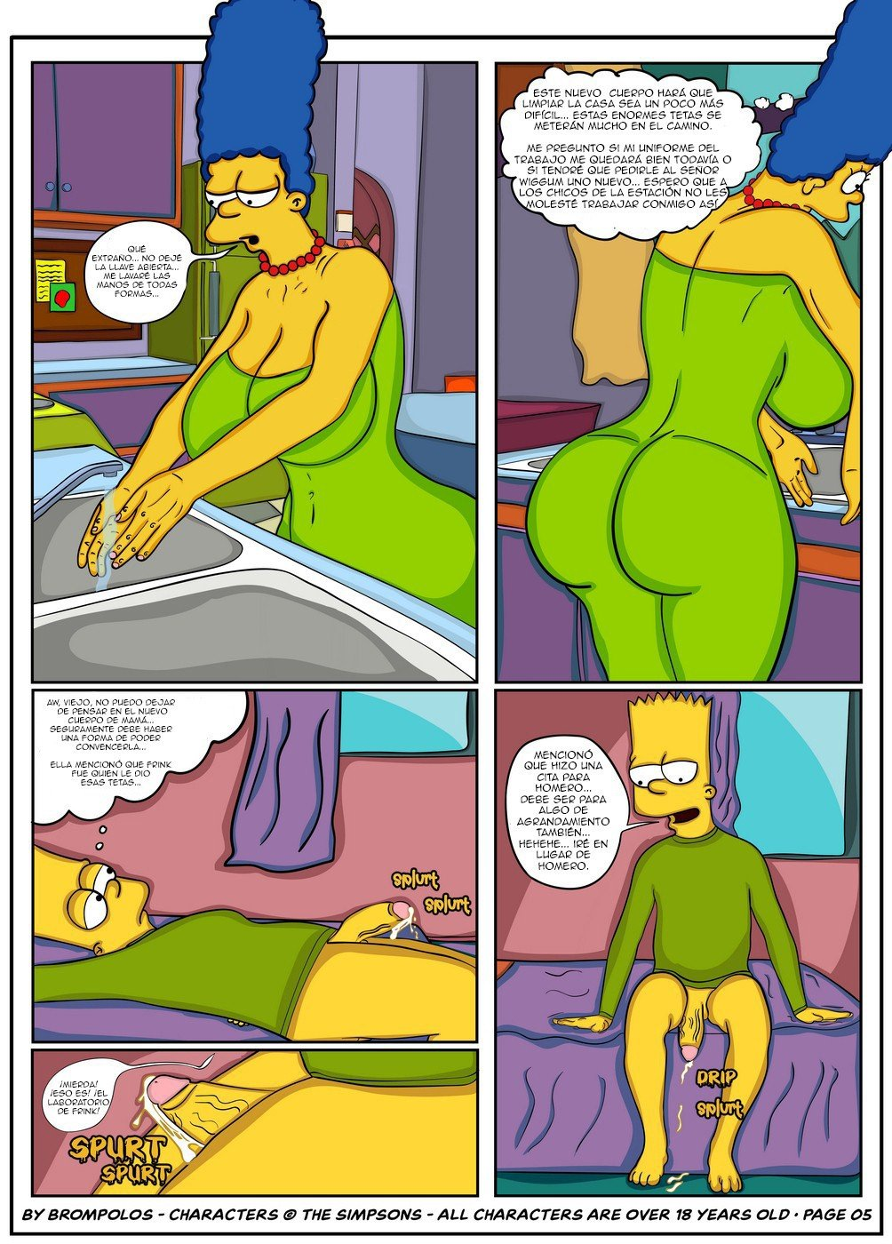 The Simpsons are The Sexenteins - 6