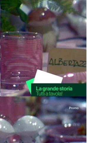 La Grande Storia - Tutti a Tavola (Puntata 28 12 2018) .mkv WEBRip x264 AAC -ITA