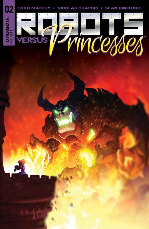 Robots vs. Princesses #1-4 (2018-2019)