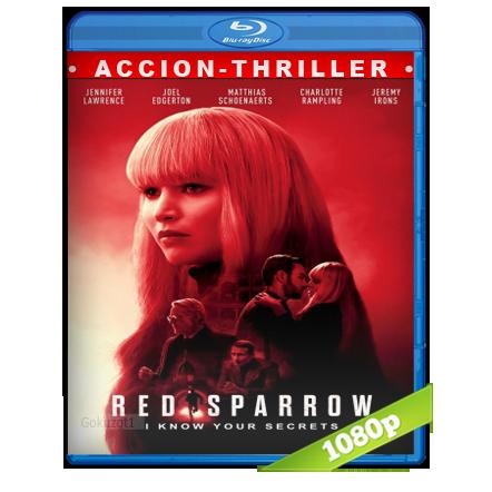 descargar Operacion Red Sparrow [2018][BD-Rip][1080p][Trial Lat-Cas-Ing][Accion] gratis