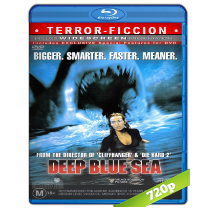 descargar Alerta En Lo Profundo [m720p][Trial Lat/Cas/Ing][Terror](1999) gratis