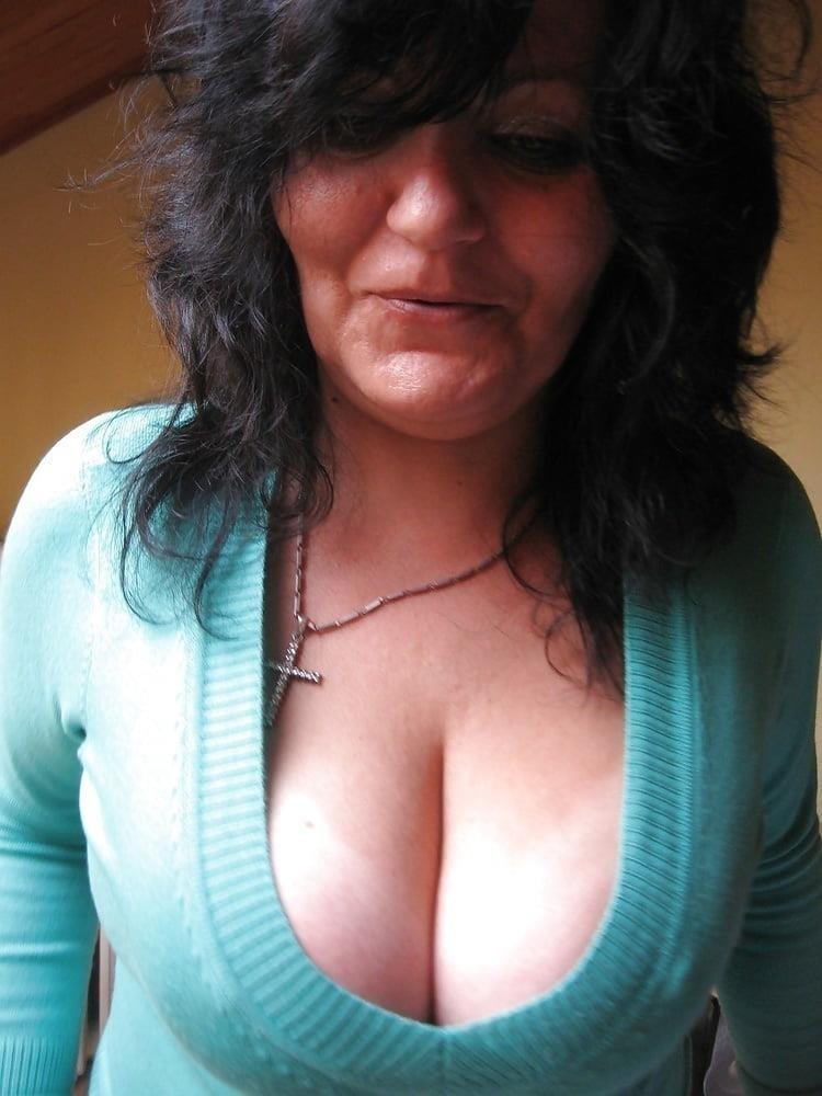 Big tit mature threesome-8500
