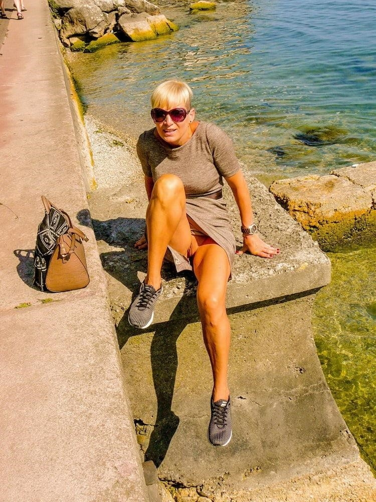 Wife naked in public-4373