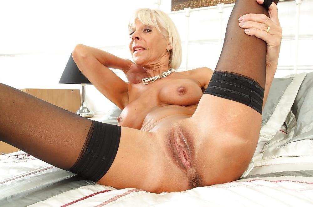 Milf big tits stocking-8787