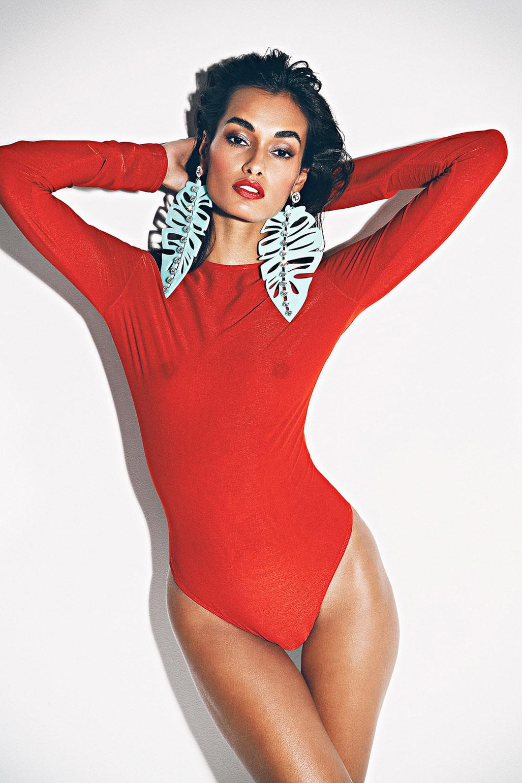 Gizele Oliveira by Richard Bernardin - French Magazine spring/summer 2018