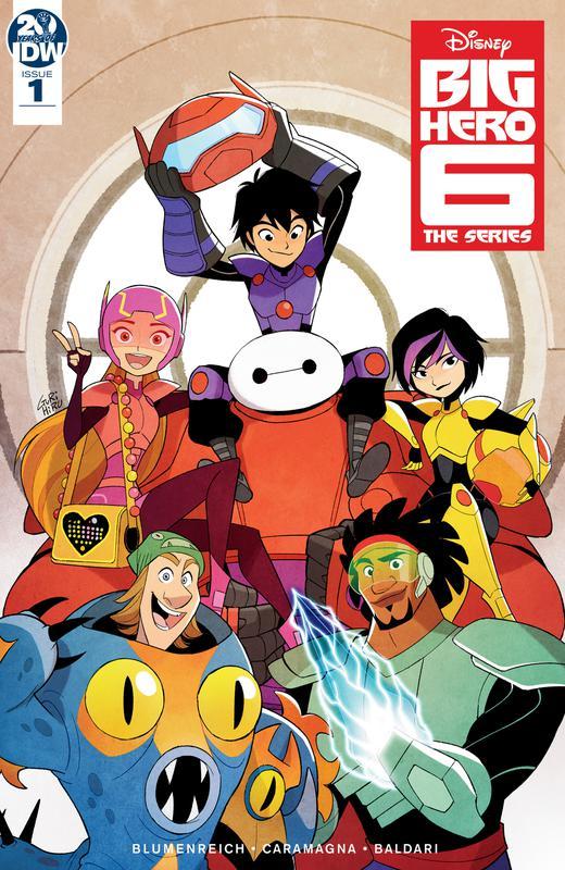Big Hero 6 - The Series 001 (2019)