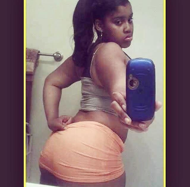 Hot black teen booty-4739