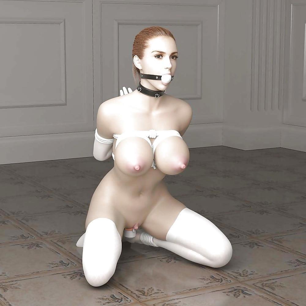 3d bondage girls-3725