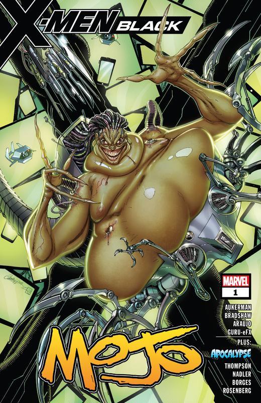 X-Men Black #1-5 (2018)
