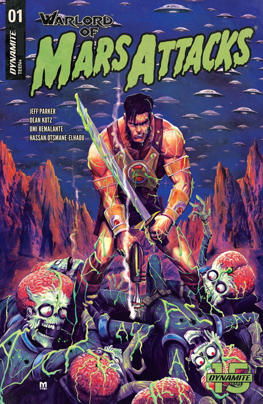 Warlord of Mars Attacks #1-5 (2019) Complete