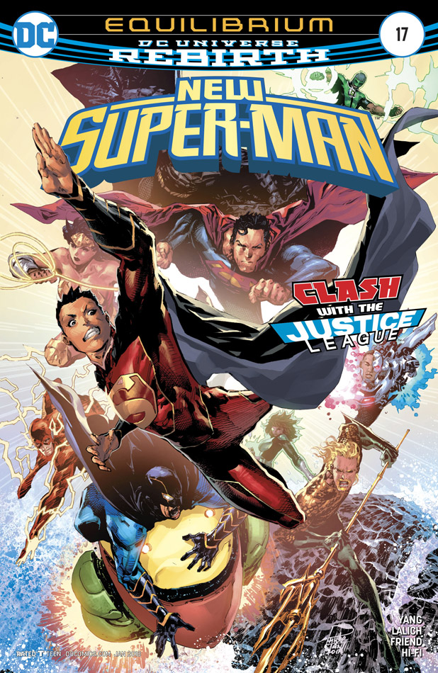 New Super-Man #1-24 (2016-2018)