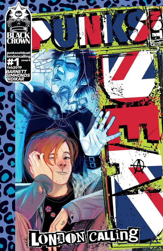 Punks Not Dead - London Calling #1-5 (2019) Complete