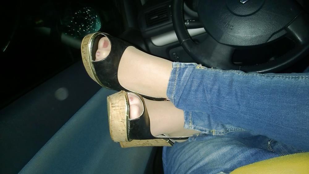Lesbian foot fetish nylon-4471