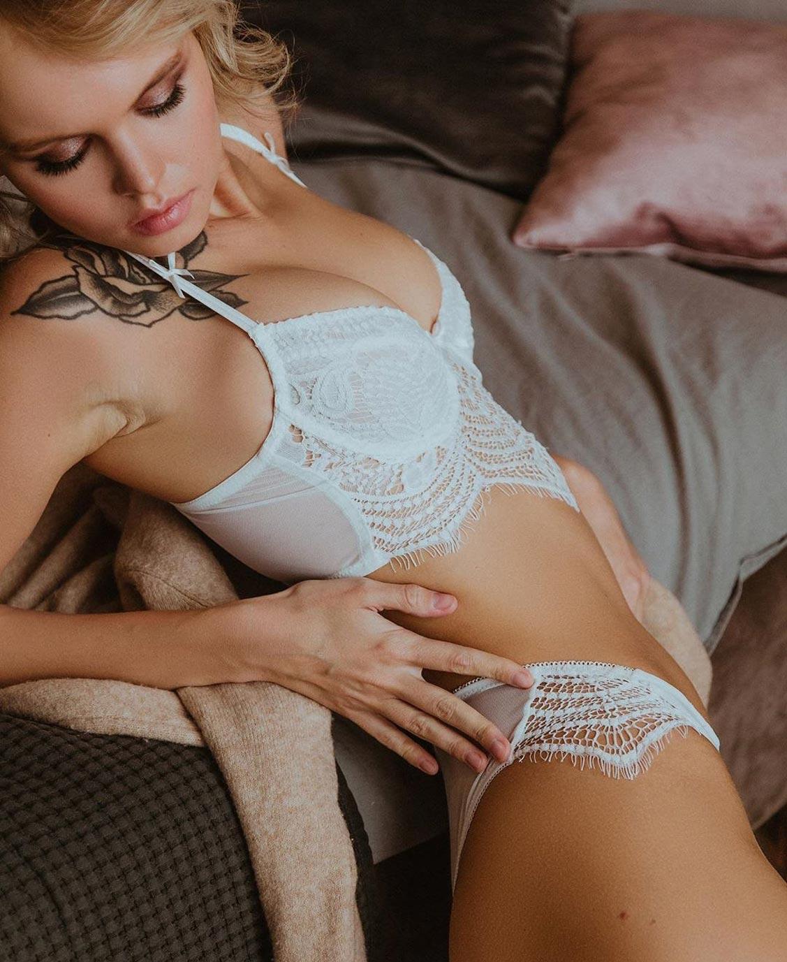 Анастасия Щеглова в нижнем белье торговой марки MissX / фото 19