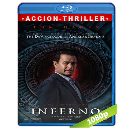 Inferno 1080p Lat-Cast-Ing[Thriller](2016)