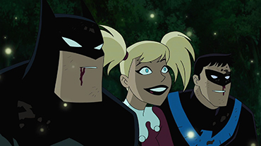 Batman And Harley Quinn Justice League Vs Teen Titans Suicide Squad Hell To Pay Grande Caps Livejournal