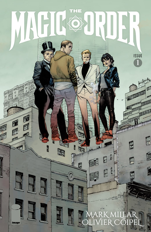 The Magic Order #1-6 (2018-2019) Complete