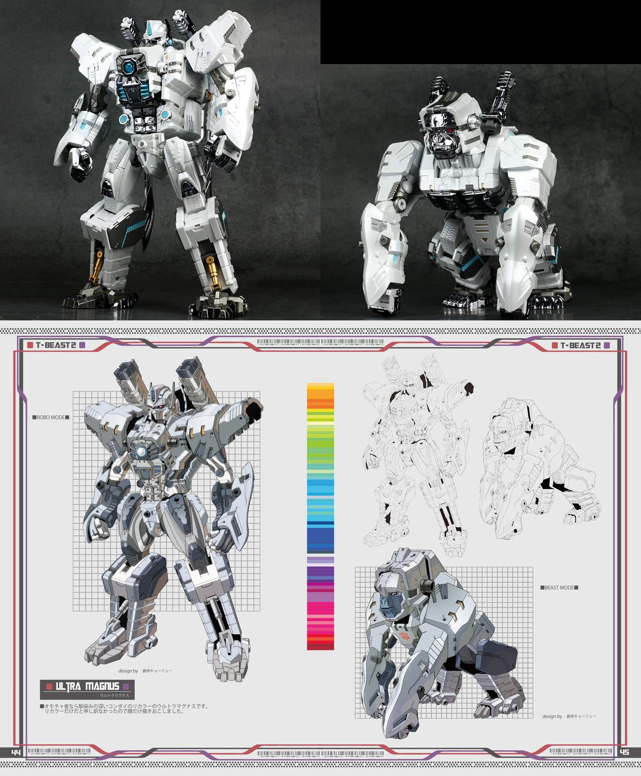 Produit Tiers - Design T-Beast - Basé sur Beast Wars - par Generation Toy, DX9 Toys, TT Hongli, Transform Element, etc - Page 3 9zwQxsZ9_o
