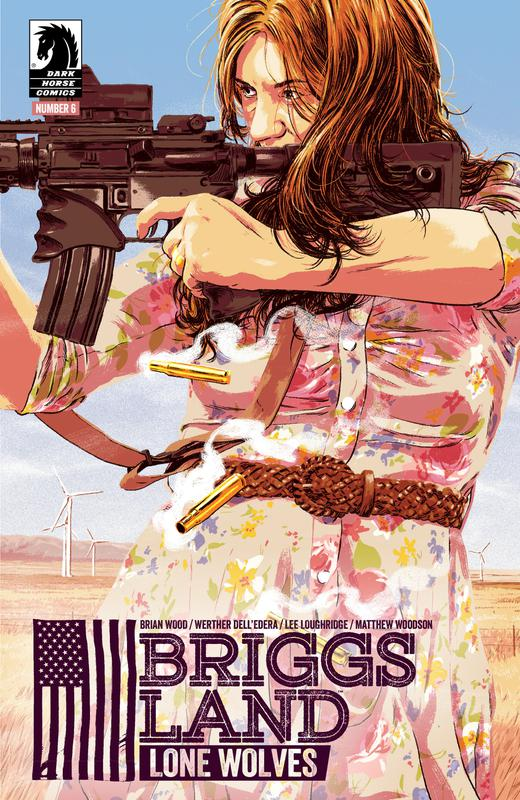Briggs Land - Lone Wolves #1-6 (2017) Complete