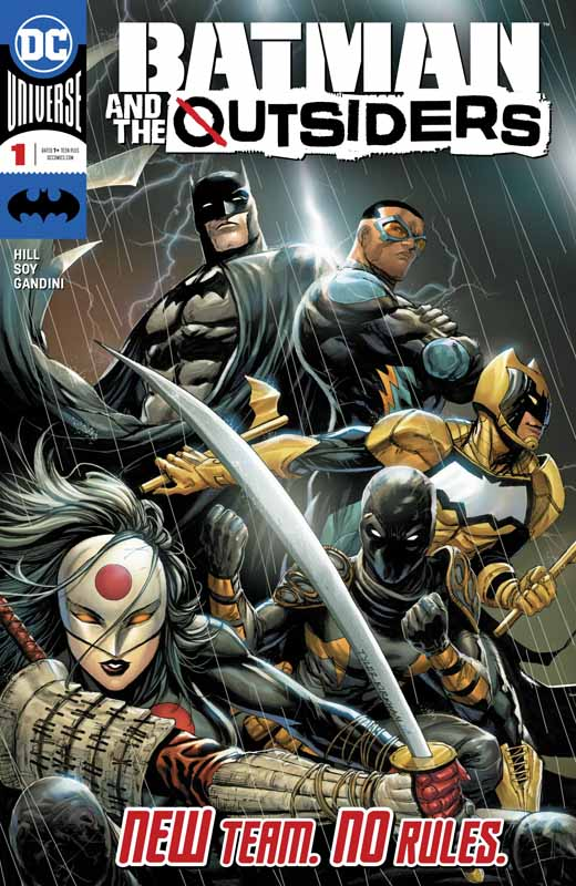 Batman & the Outsiders #1-14 + Annual (2019-2020)