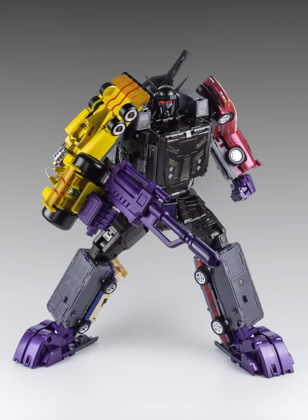 [X-Transbots] Produit Tiers - Jouets Berserkars forme Monolith (MX-XIII à MX-VII) - aka Stunticons forme Menasor/Menaseur - Page 7 M0mtm0OE_o