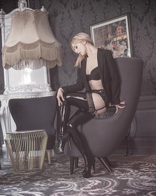 Latex stockings porn pics-4064