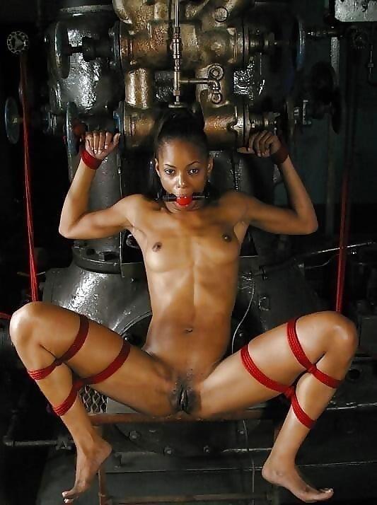 Ebony black naked women-5336