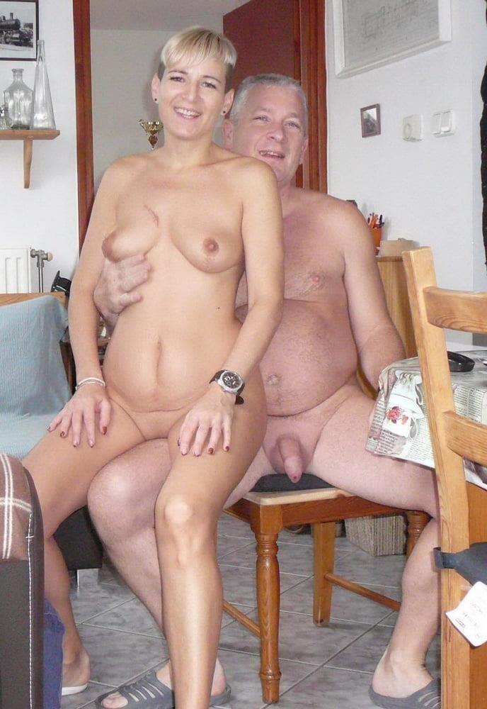 Wife naked in public-9511