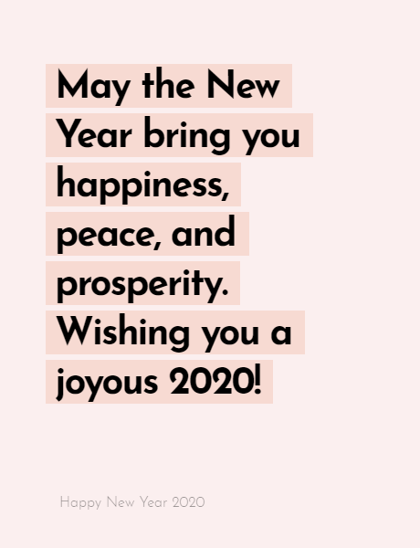 Happy New Year 2020 Wishes Quotes, Happy new year inspiration night 2020, wishes, messages & greetings 11