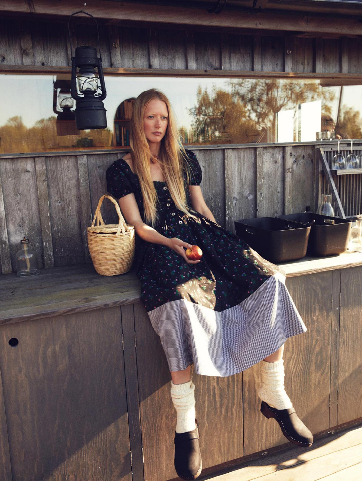 Бразильская модель в гостях у шведской - Эрика Линдер и Ракель Циммерман / фото 17