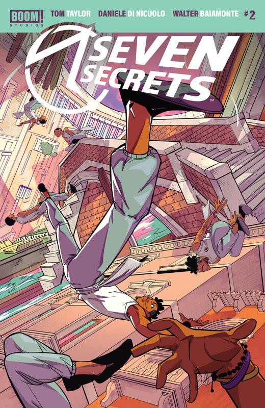 Seven Secrets #1-3 (2020)