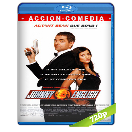 descargar Johnny English 720p Lat-Cast-Ing[Comedia](2003) gratis
