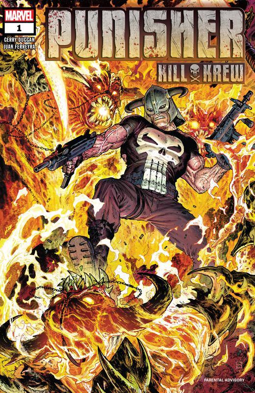Punisher Kill Krew #1-5 (2019-2020) Complete