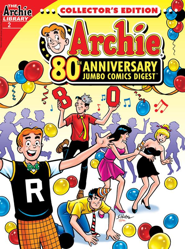 Archie 80th Anniversary Jumbo Comics Digest #1-4 (2021)
