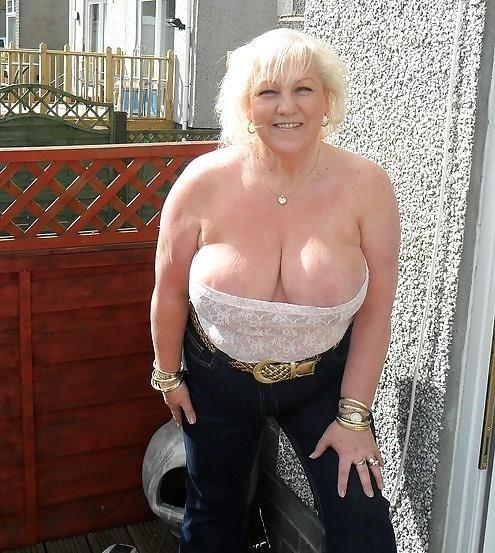 Granny big tit pics-6032