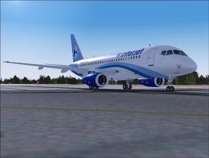 Aeroproyecto/Edgar Guinart Sukhoi Superjet 100 V 2 0 released