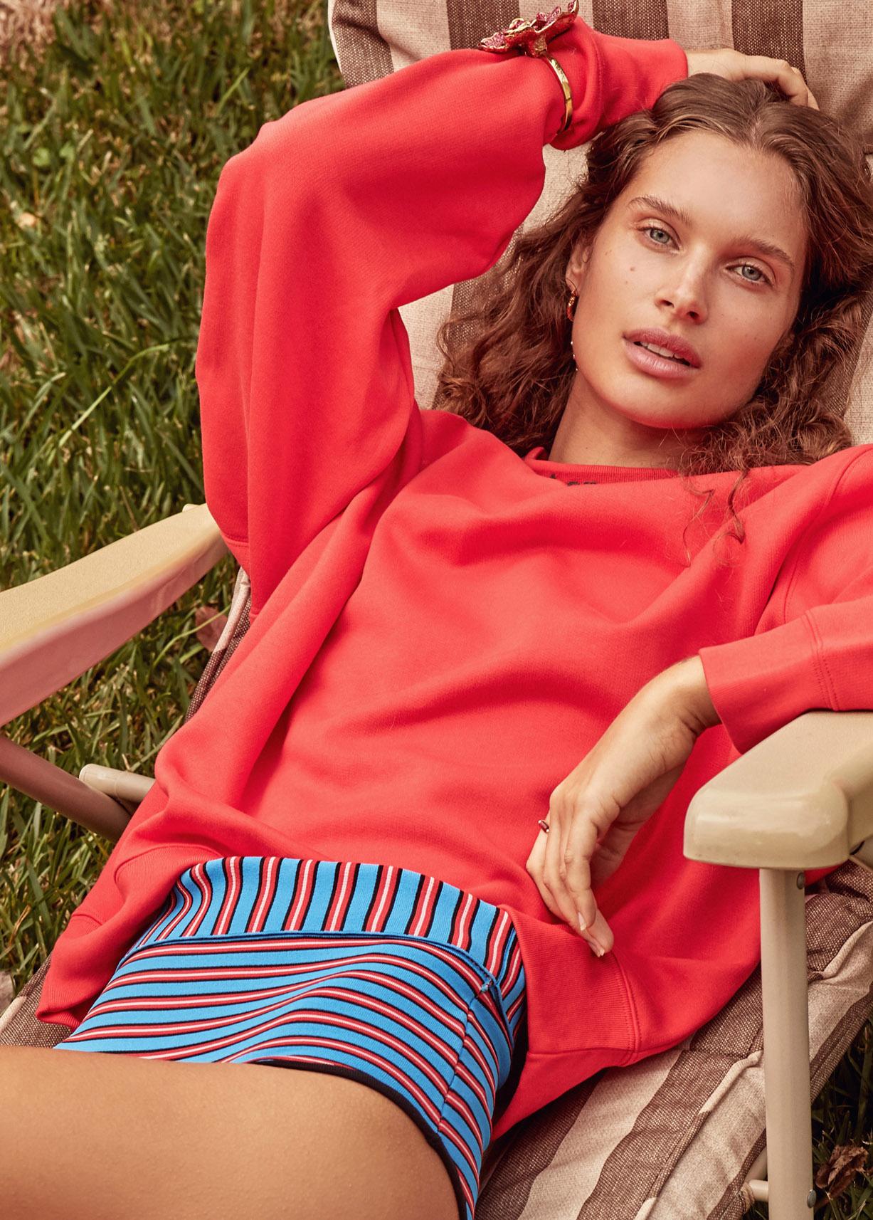 Lazy Sunday / Lise Olsen by Ryan Conduit / Grazia Australia may 2019