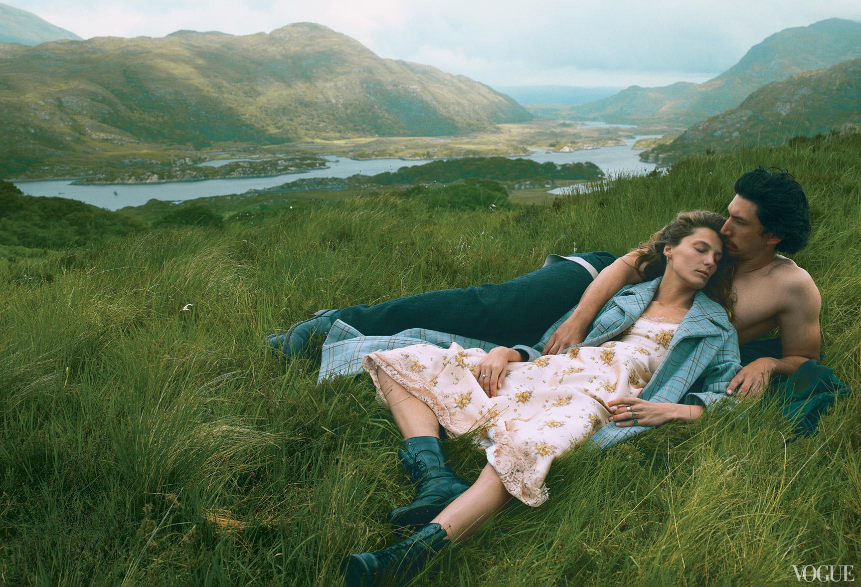 Дарья Вербовы и Адам Драйвер отдыхают на необитаемом острове / фото 04