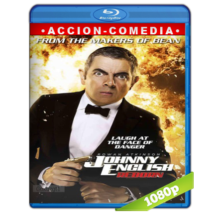 Johnny English 2 Recargado 1080p Lat-Cast-Ing[Comedia](2011)