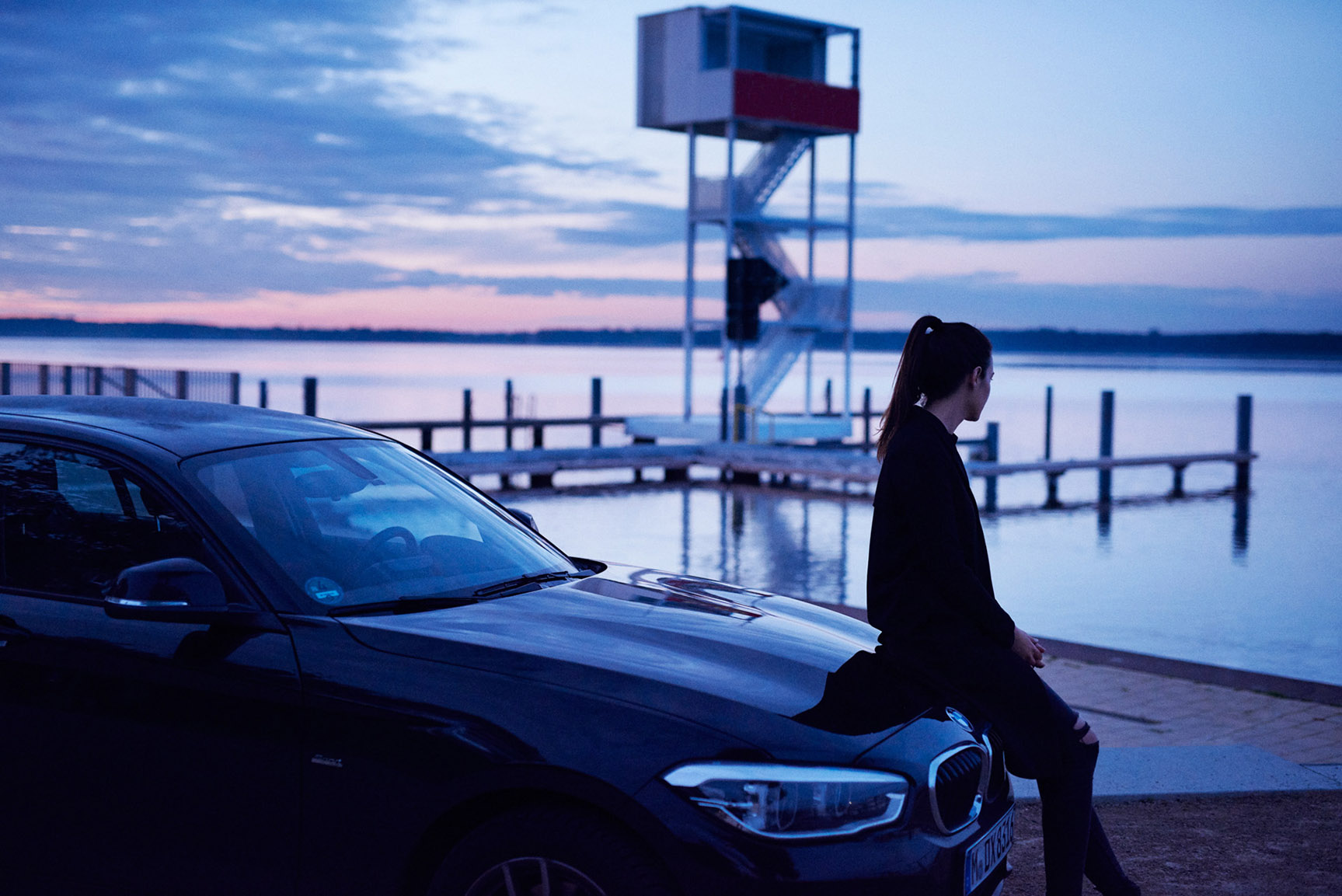 DriveNow BMW / Marilena and Shane Benson by Maximilian Motel