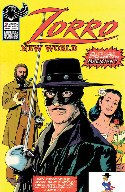 Zorro New World #1-2 (2021)