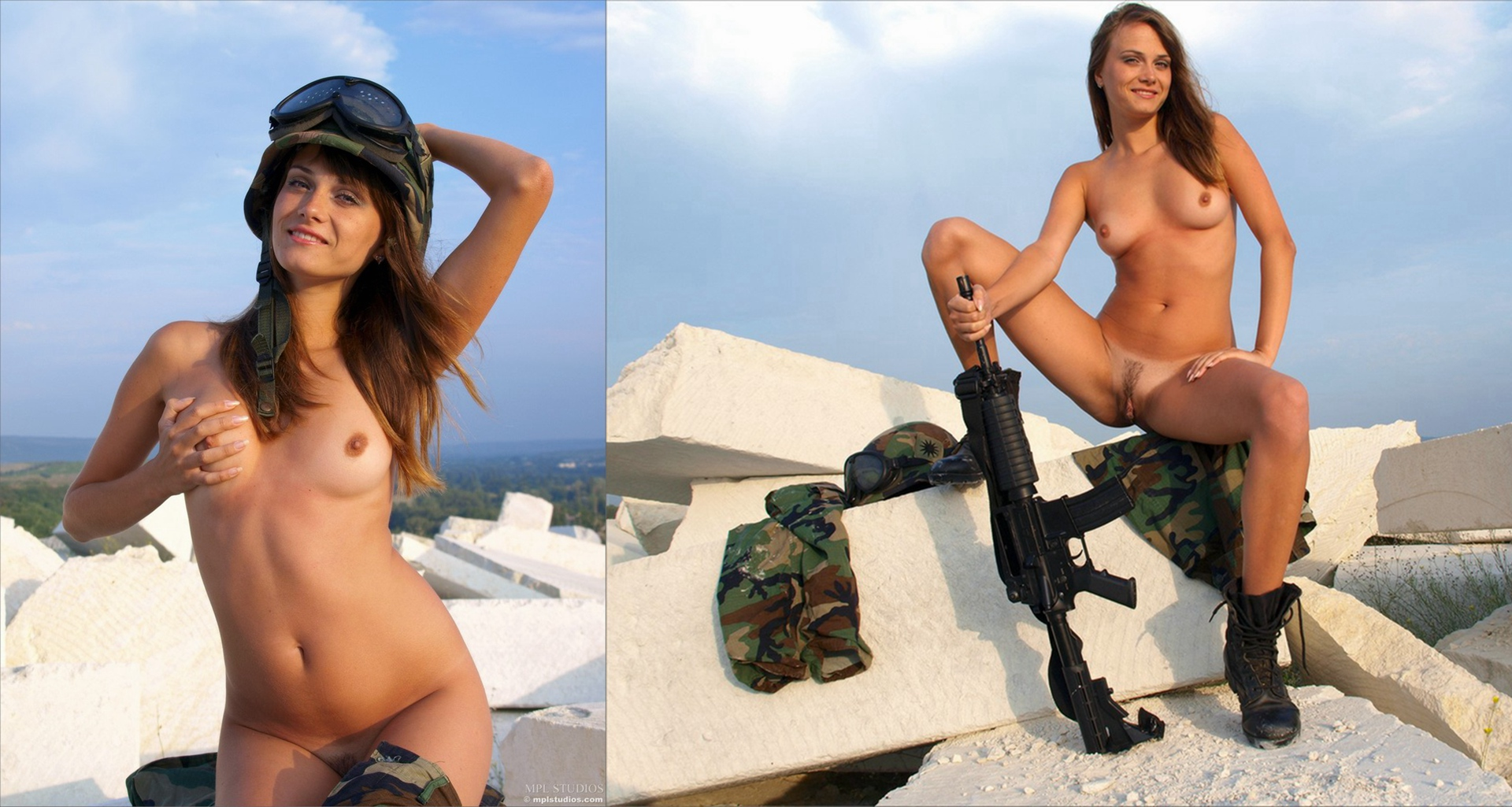 Nude israeli soldier girls