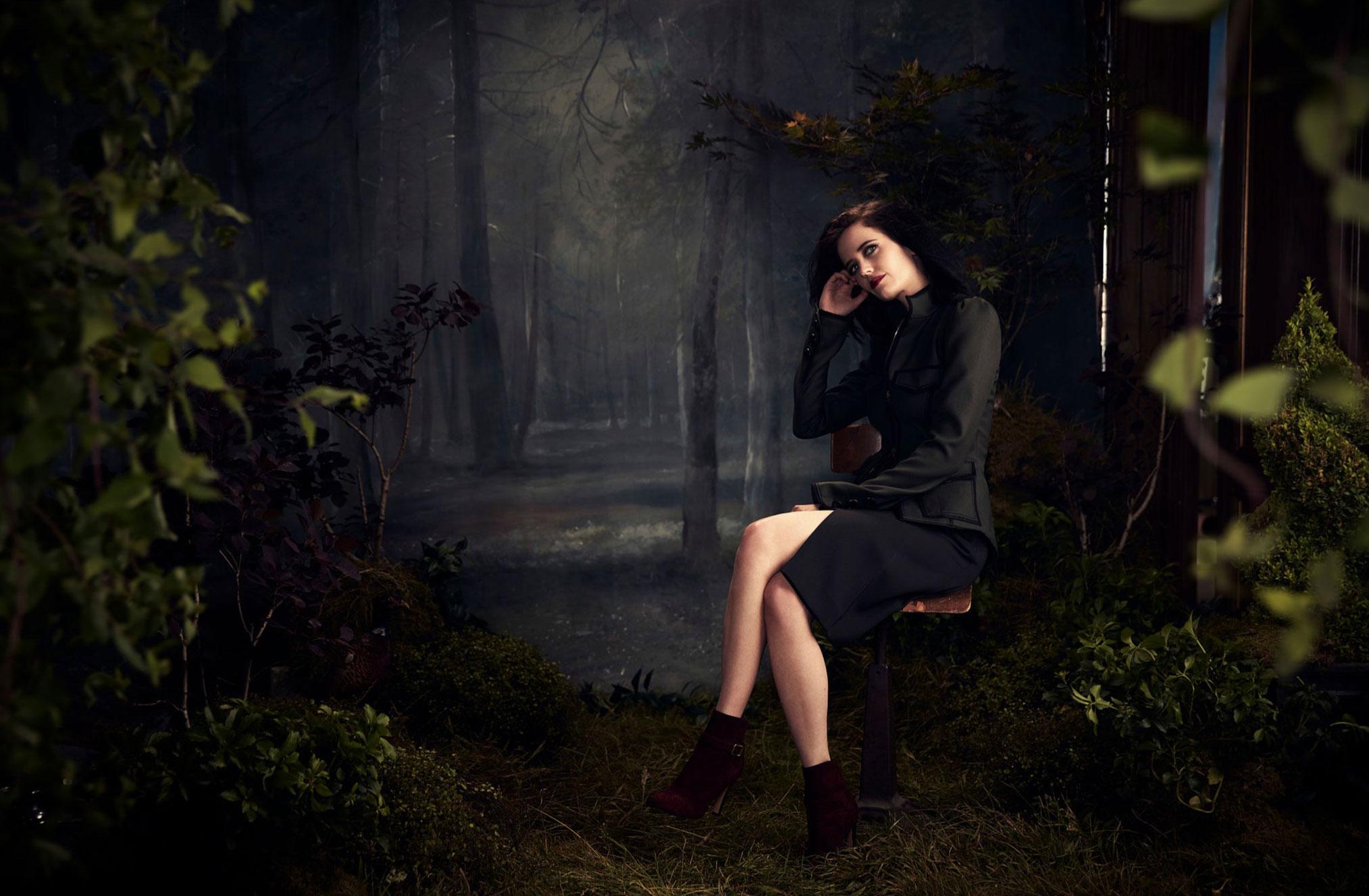 промосъемка Евы Грин для киностудии 20th Century Fox / фото 14