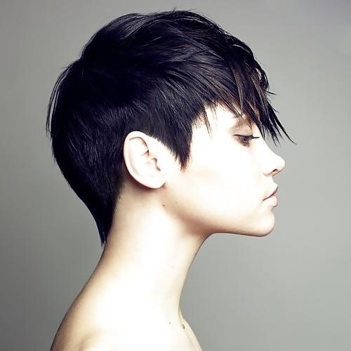 Best hair style for short hair girl-8193