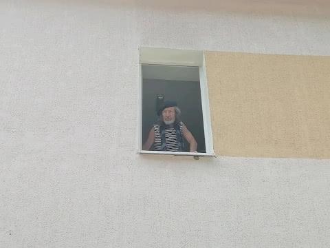 наш постоянный посетитель на карантине