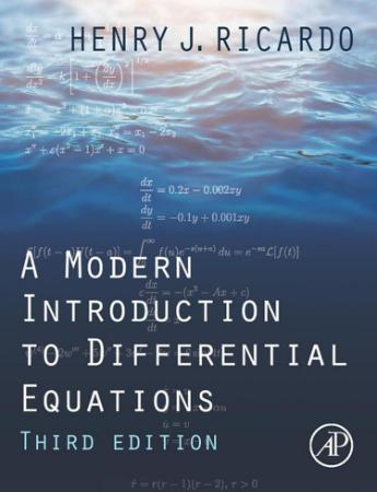 A Modern Introduction to Differential Equations, 3rd Edition