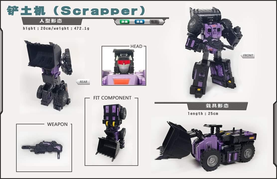 [Toyworld] Produit Tiers - Jouet TW-C Constructor aka Devastator/Dévastateur (Version vert G1 et jaune G2) - Page 10 OwpQ4NDv_o